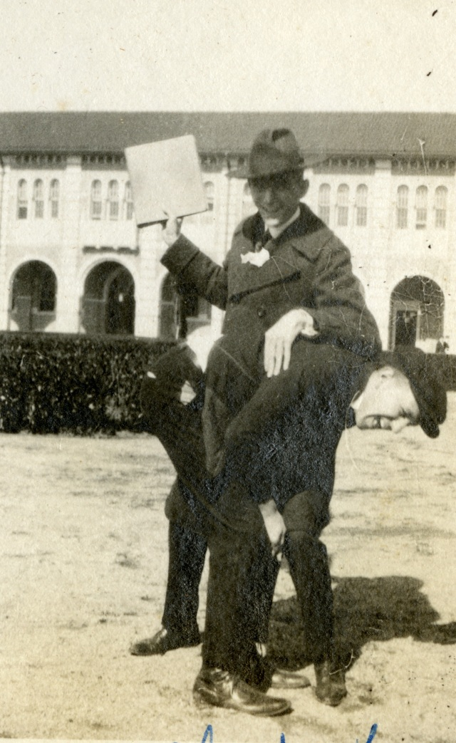 Albert Thomas administering