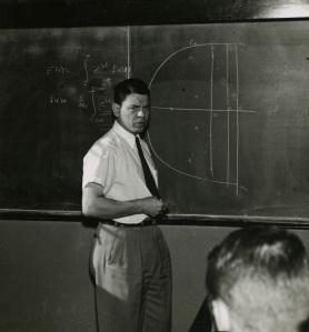 Paul Pfeiffer in class