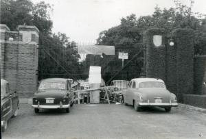 King Hill blockade 1957