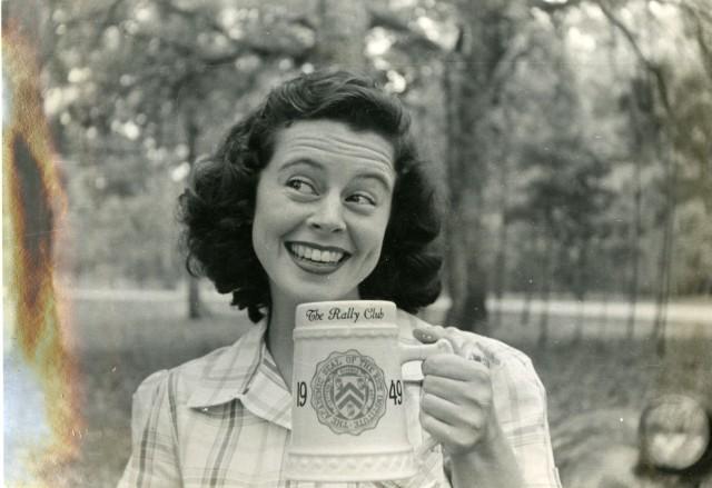 Rally Club picnic fall 1948 girl