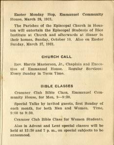 Community House pamphlet 3