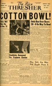 Football 1957 Baylor thresher