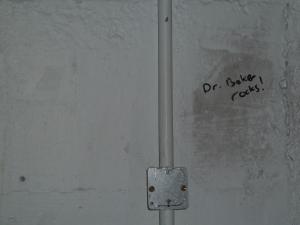 Dr Baker rocks