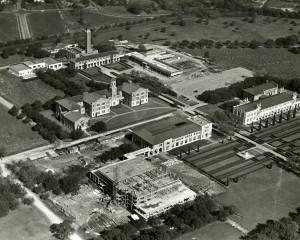 Fondren Construction aerial December 1947