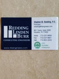 redding card