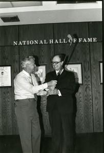 Russian golf Coach John Plumbley and MG Slinko