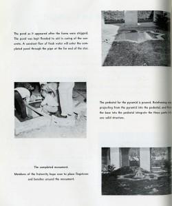Sigma Tau monument 3