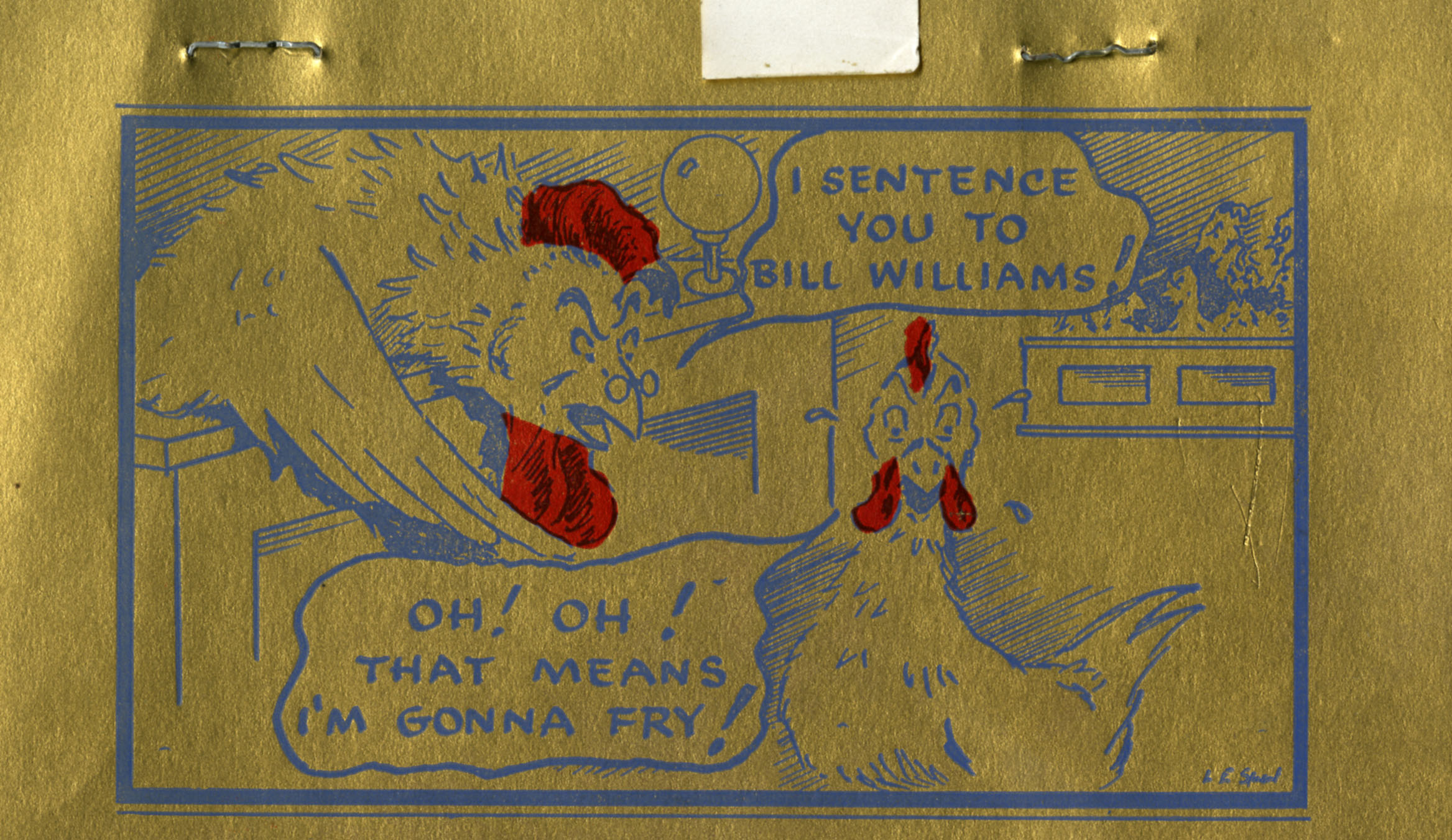 ... know when Bill Williams went away but I wish it were still there