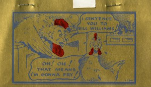Bill Williams menu 3
