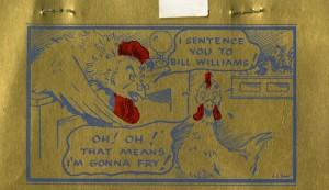 Bill Williams menu 3
