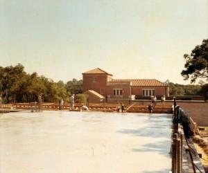 Allen Center construction 1 1966