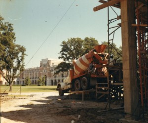 Allen Center construction 2 1966