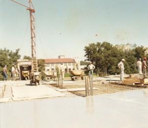 Allen Center construction 3 1966