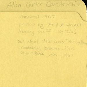 Allen Center folder