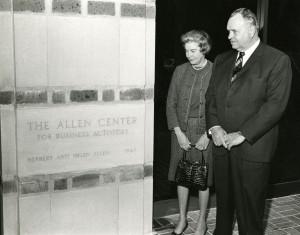 Allen Center Opening Allens