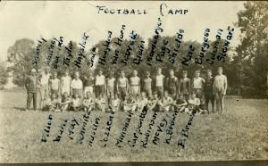 McVey 3 Football Camp mid20s