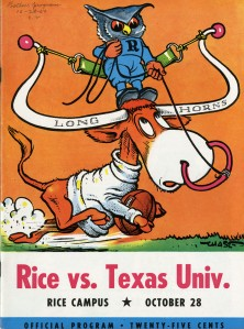Rice-Texas 1950 program