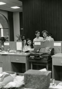 Allen Center cashier 1970