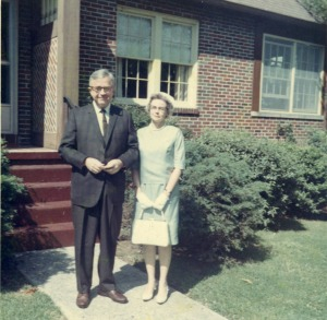 Mastersons Bill and Orvetta May 1967 unknown location