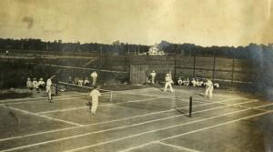 Doubles Match 1916 Knapp