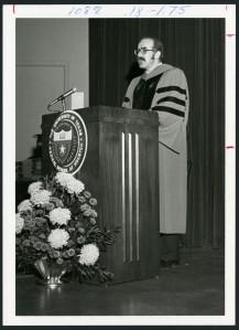Bill Martin podium