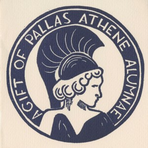 Bookplate Pallas Athene