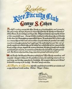 Cohen resolution