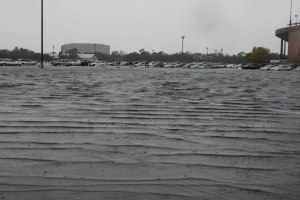 Hurricane Ike Rice Stadium 2008