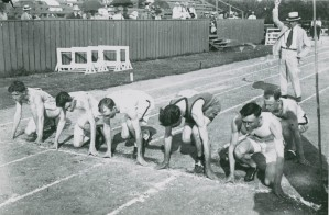 Track meet possibly 1916 4