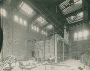 Power plant interior construction 1912