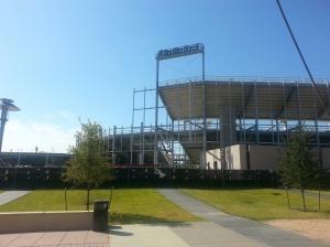 UH stadium November 2013