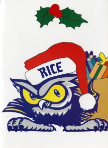 Christmas CArd nd Athletics