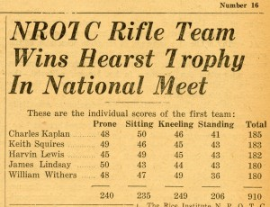 Rifle team February 1945 1