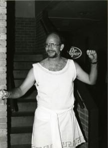 Bill Wilson in greek costume nd