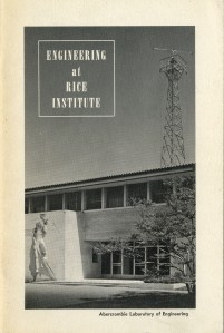 Engineering at Rice Institute December 1959