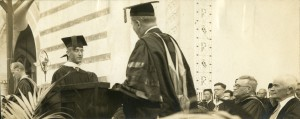 Ray Watkin photo commencement 30s