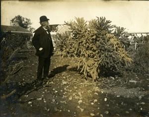 Hugo de Vries Oct 1912 San Antonio JSH papers