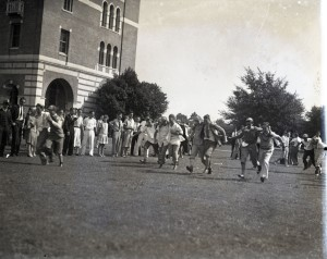Glass slime three legged race 1929