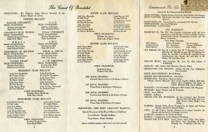 May 1955 Rondelet program
