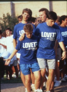 Three legged race Lovett nd