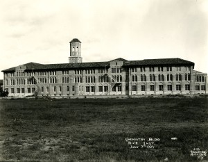 Chem Building back view 1925