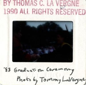 Commencement 1988 1990 2