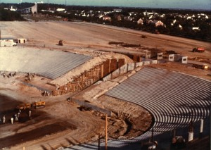 Morehead stadium construction 1