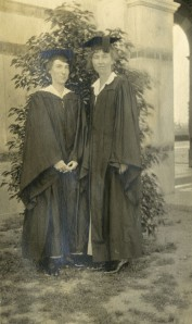 Red and Robinson Commencement 1916 Knapp