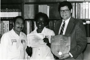 Physical plant staff 1983 Mr Franco