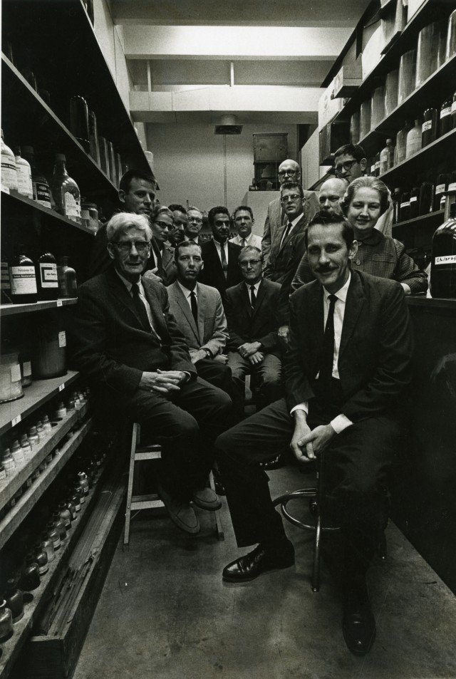 Biology faculty 1966