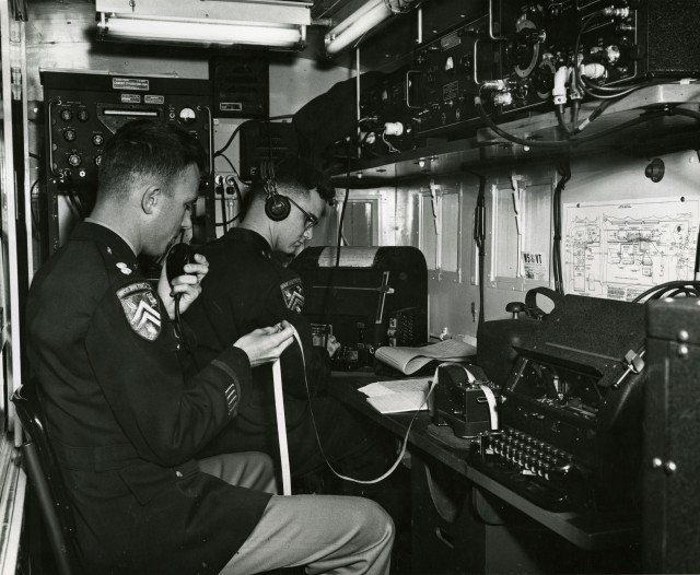Army ROTC April 1954