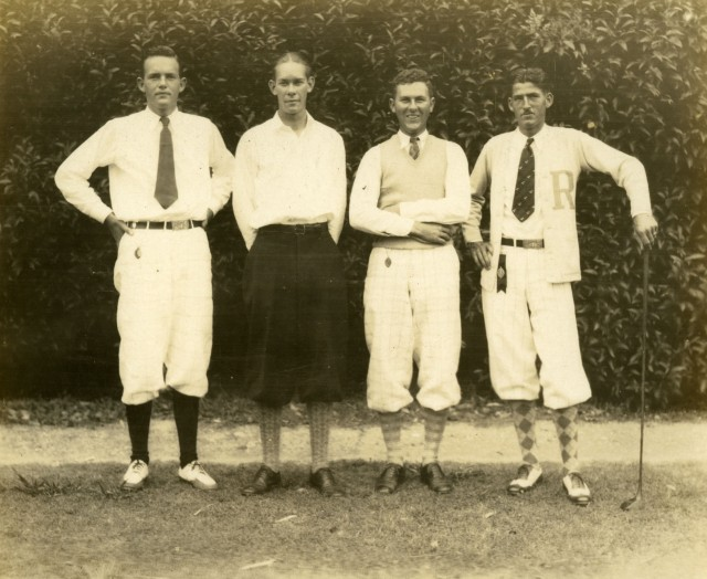 Glass golf c1929 from prints