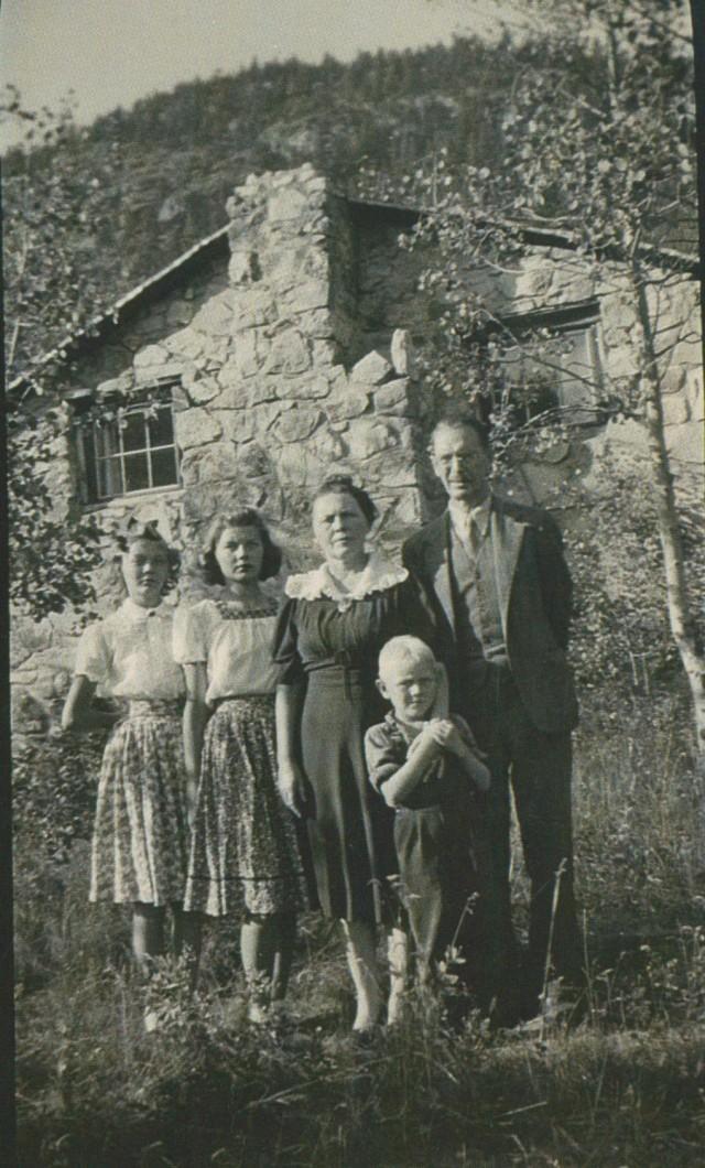 Bray family Eldora Col c1935