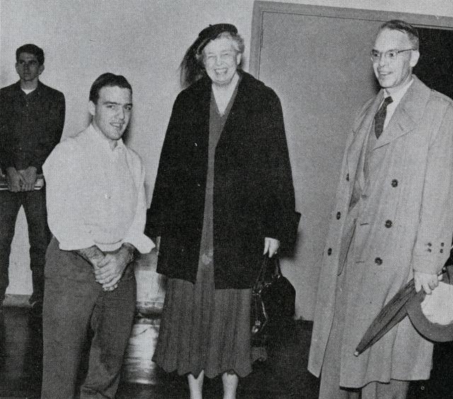 Eleanor Roosevelt 1955 campanile 1